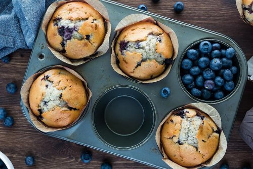 Fun 3-Ingredient Blueberry Muffin Recipe: We Can Thank Babs for This Viral TikTok Recipe
