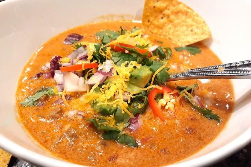 Creamy Beef Taco Soup Recipe: Incredible 30-Minute Ground Beef Taco Soup Recipe
