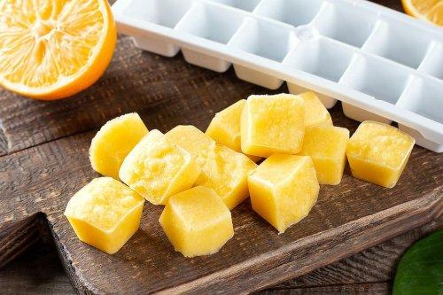 Refreshing Lemon Ice Cubes Recipe: 2 Ways to Make Lemon Ice Cubes for Your Lemon Water & Other Drinks