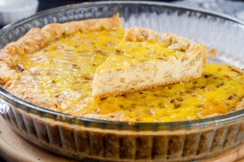 This Caramelized Onion Quiche Recipe Is a Good Excuse to Pop That Wine Cork | Dinner | 30Seconds Food