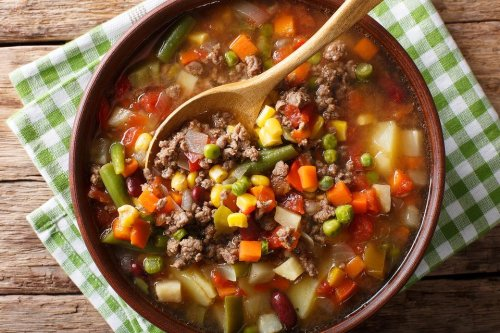 Tasty Ground Beef Soup Recipe: This Hamburger Vegetable Soup Recipe Is Comfort Food at Its Finest