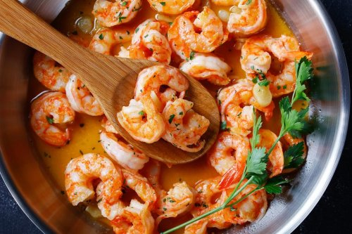 Easy Shrimp Recipes: This Savory Garlic Lemon Butter Skillet Shrimp Recipe Is Ready in About 20 Minutes