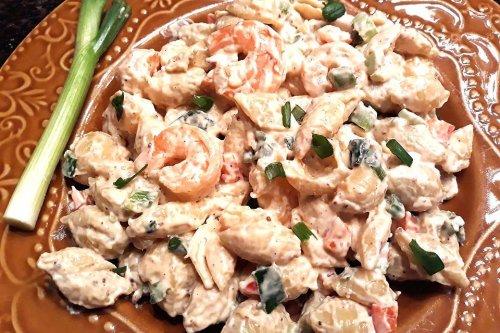 Remoulade Shrimp Pasta Salad Recipe: This Easy Shrimp Salad Recipe Is Creamy Cajun Goodness