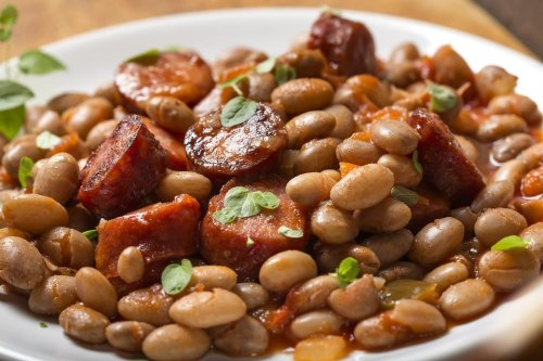 Hearty Slow-Cooker Recipe: This Easy Sausage & Beans Recipe Is Cornbread's Best Friend