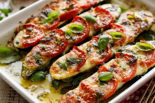 Low-Carb Pizza Recipe: This 20-Minute Zucchini Pizza Recipe Just Made Pizza Night Healthy & Keto Friendly