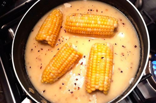 Milk Butter Bath for Corn Recipes: This Honey Corn Butter Bath Recipe Adds a Kick to That Cob