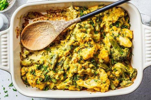 The Cheesiest Vegetable Casserole Recipe: Easy Broccoli, Cauliflower & Asparagus Casserole Recipe | Vegetables | 30Seconds Food