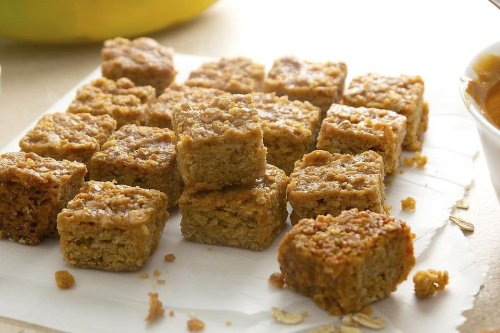 Peanut Butter Banana Oatmeal Squares Recipe: Are They Breakfast Cookies, Energy Bites or Snack Bars? You Decide!