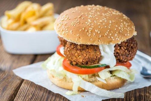 Vegetarian Burger Recipes: You'll Falafel in Love With This Easy Falafel Burger Recipe
