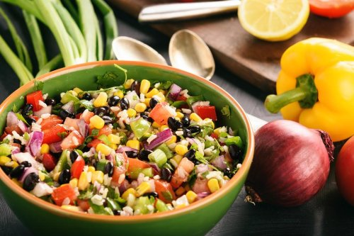 Easy Black Bean Salsa Recipe: This Healthy Black Bean Salsa Is Loaded With Fresh Vegetables (and Even More Flavor)