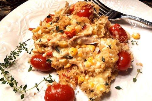 20-Minute Creamy Chicken Casserole Recipe: This One-Pan Recipe Raises the Bar for Chicken Casseroles