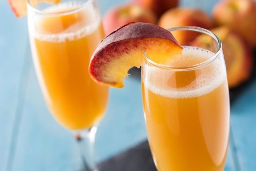 2-Ingredient Peach Bellini Recipe: This Refreshing Summer Cocktail Recipe Is Just Peachy