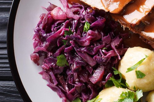 Sweet & Sour Red Cabbage Recipe: This Easy German Cabbage Recipe Is Sweet & Tangy