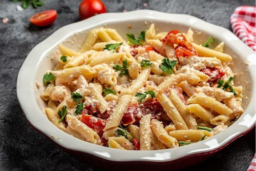 15-Minute Cheesy Penne Pasta Recipe With Sun-dried Tomatoes: Just 5 Ingredients for a Fabulous Pasta Dinner