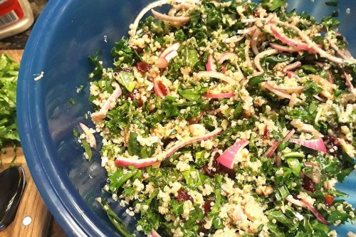 Amazing Power Salad Recipe: This Healthy Quinoa Salad Recipe From Chef Michael Symon Is Fuel for the Body