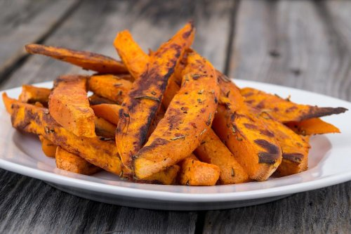Healthy Baked Cinnamon Sweet Potato Wedges Recipe Gets a Deliciousness Seal of Approval