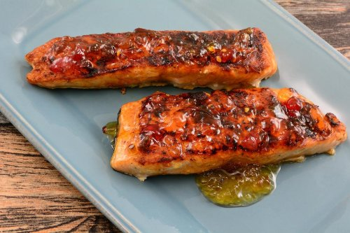 Red Pepper Jelly-Glazed Salmon Recipe: Meet Your New Favorite Salmon Recipe