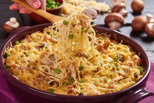 Easy Chicken Tetrazzini Recipe: This Chicken Tetrazzini Casserole Recipe Is Comfort on a Plate