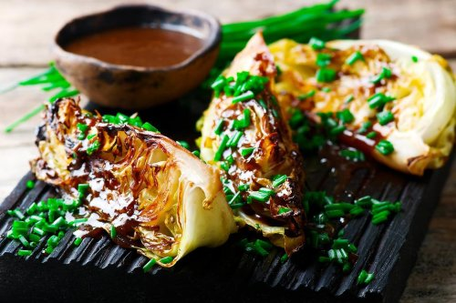 Grilled Cabbage Recipe With Gochujang-Miso Glaze: This Easy Asian-Inspired Cabbage Recipe Is a Showstopper
