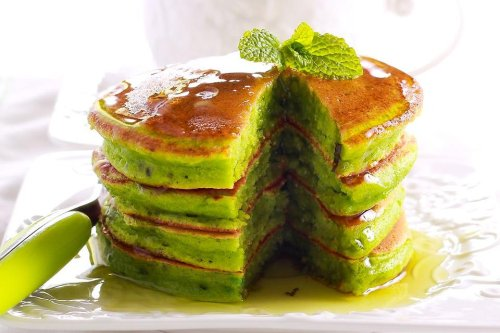 Japanese Matcha Pancakes Recipe: This Easy Matcha Pancakes Recipe Is Supposed to Be Green