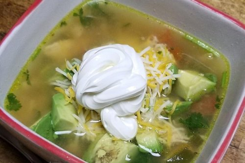 This Easy Chicken Avocado Lime Soup Recipe Is Ready in 30 Minutes
