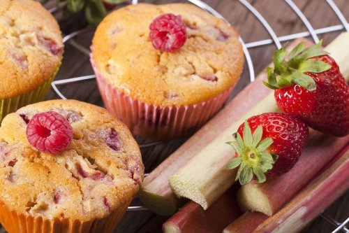Rhubarb Cupcakes Recipe: This Strawberry Rhubarb Vanilla Cupcake Recipe Is Like Taking a Bite of Summer
