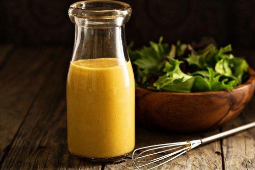 Restaurant Honey Mustard Dressing Recipe: Best Creamy Honey Mustard Salad Dressing Recipe