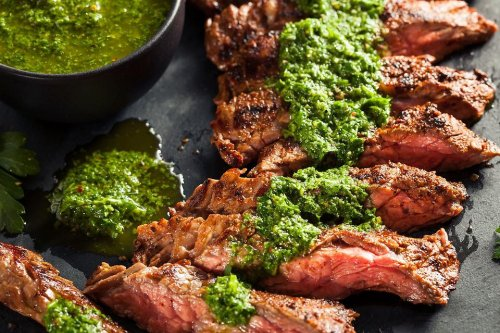 Grilled Flank Steak Recipe: This Easy Flank Steak With Cilantro Chimichurri Sauce Recipe Is What You Should Make Tonight   Grilling   30Seconds Food