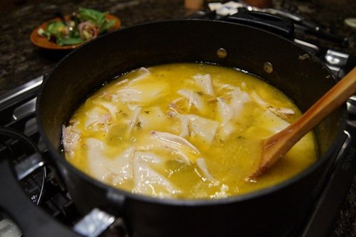 Easy Chicken & Dumplings Recipe: Homemade Chicken & Dumplings in 45 Minutes? Yep!