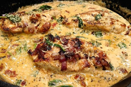 One-Pan Tuscan Chicken Recipe: This Creamy 30-Minute Chicken Recipe Is Amazing