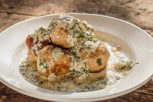 This Chicken Meatballs Recipe in a Creamy Herb Sauce Is Ready in About 30 Minutes