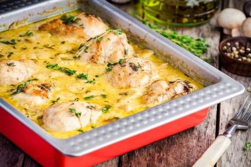 Chicken Dijonnaise Recipe: This Easy Classic French Chicken Recipe Is How Chefs Like to Eat | Poultry | 30Seconds Food