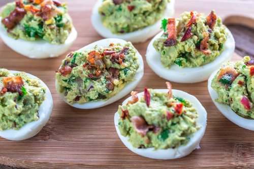 Best Deviled Egg Recipe: This Bacon Guacamole Deviled Eggs Recipe Is Borderline Genius