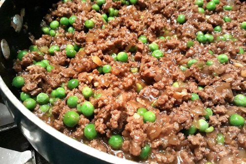 Cantonese Beef Recipe: This Asian Ground Beef Recipe With Peas Has Unbelievable Flavor in 20 Minutes