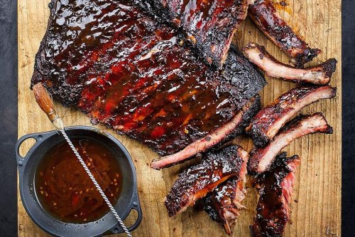 Fantastic Mapo-Style Korean BBQ Pork Ribs Recipe With Grilled Asian Pears