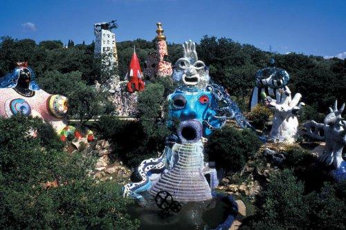 The Tarot Garden in Tuscany: A Remarkable Sculpture Garden in Italy