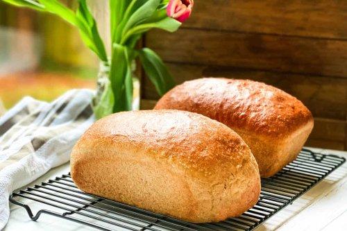 100% Whole Wheat Bread Recipe: Homemade and Delicious