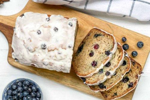 Blueberry Banana Bread: An Easy, Healthier Quick Bread