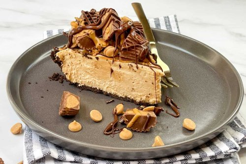 Easy No Bake Peanut Butter Pie