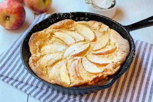 Apple Dutch Baby: German Pancakes
