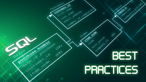 SQL Best Practices - How to type code cleanly and perfectly organized | 365 Data Science