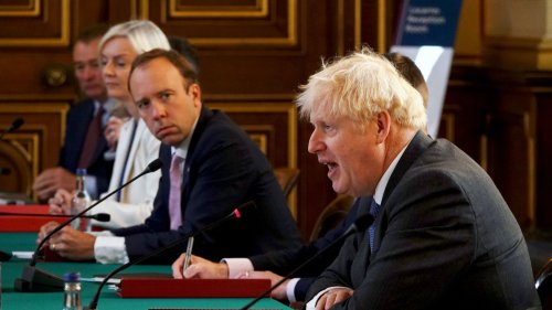 Boris Johnson called Matt Hancock 'totally f****** hopeless' in WhatsApp message, Dominic Cummings says