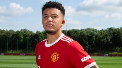 Jadon Sancho: Manchester United sign England winger from Borussia Dortmund for £73m