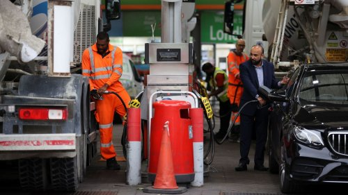 Petrol prices hit 142.94p per litre, data shows - beating record set in 2012