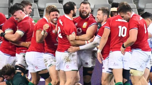 South Africa 17-22 British and Irish Lions: Tourists go 1-0 ahead in three-Test series vs the Springboks