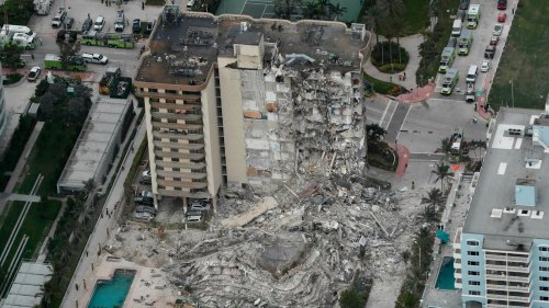 Miami building collapse: 51 people unaccounted for as rescuers continue to search for survivors