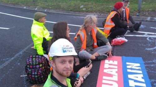Climate protesters block access to M25 for fourth time in a week