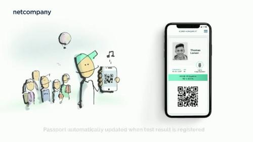 COVID-19: Danish vaccine passport app 'will cause domino effect' across Europe