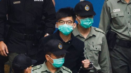 Hong Kong protests: Activist Joshua Wong jailed for further 10 months in jail over Tiananmen vigil