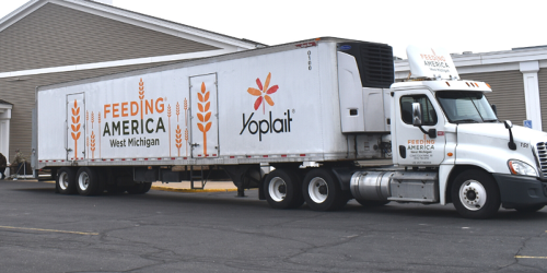 Yoplait Donates Refrigerated Truck To Help Feed Those in Need